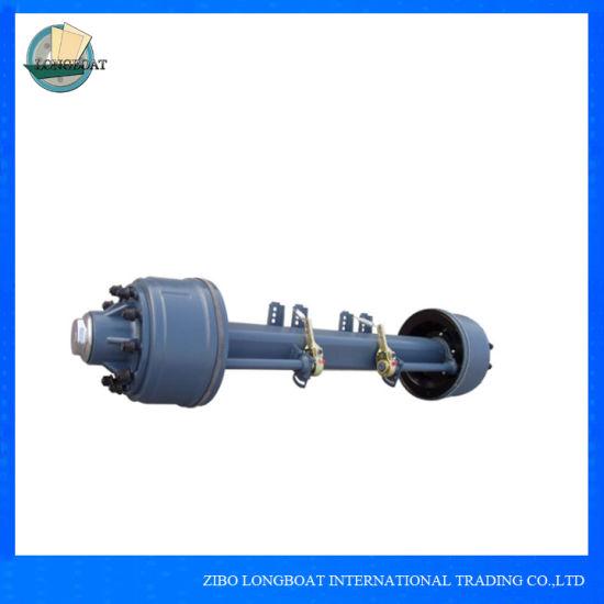 China Heavy Duty Truck Trailer Axle