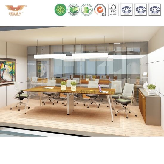 China Modern Office Furniture Square Meeting Room Conference Table - Square conference room table