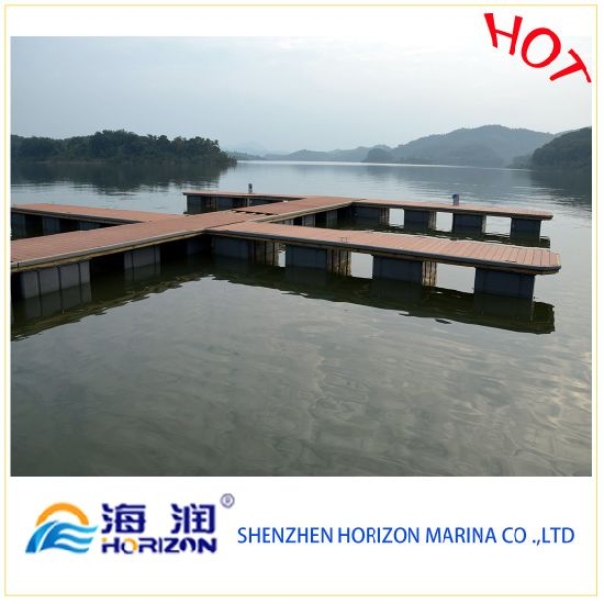 Used HDPE Plastic Pontoon Dock Floats Have Foam Inside Stable Manufacture in China pictures & photos