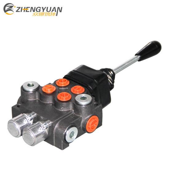 Hydraulic Monoblock Valve P40 2 Spool with Joystick Control
