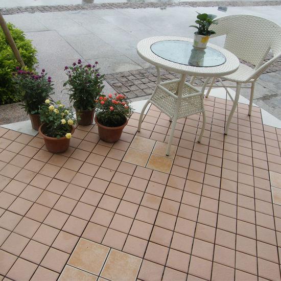 China Foshan Low Price Outdoor Garden Interlocking Removable Rustic ...