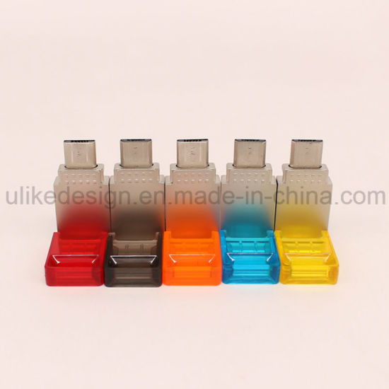 Hot Sale Colorful OTG USB Flash Drive with Your Logo (UL-OTG007) pictures & photos