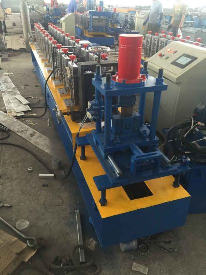 95mm Fast Speed Metal Shutter Door Roll Forming Machine pictures & photos