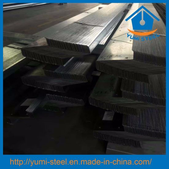 China Galvanized Steel Z Purlins Girts Section Frame Roof/Shed