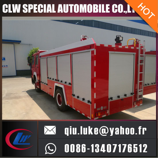 Dry Powder Fire Engine Truck pictures & photos