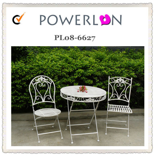 Wrought Iron Outdoor Furniture Table with Chairs pictures & photos