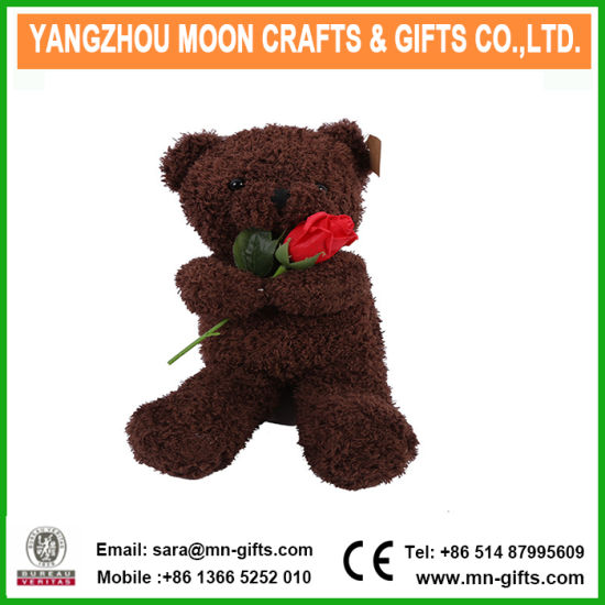 Brown Plush Stuffed Bear Soft Toy, Teddy Bear Shaped Plush Valentine Day pictures & photos