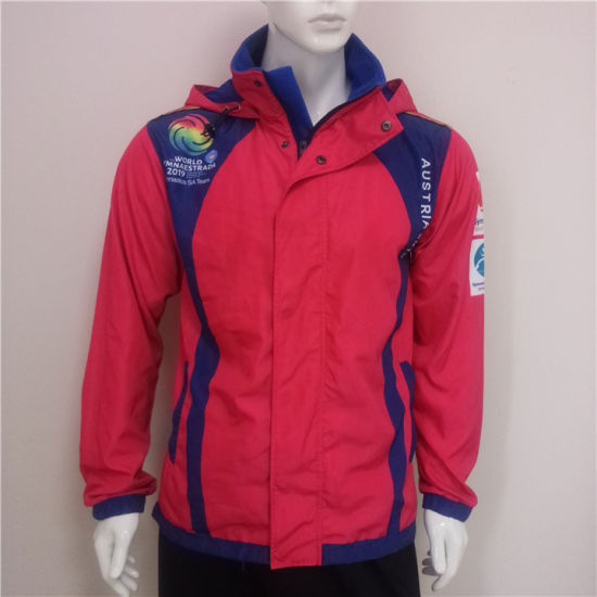 Wholesale Quality Custom Printed Waterproof Tracksuit Jackets for Mens