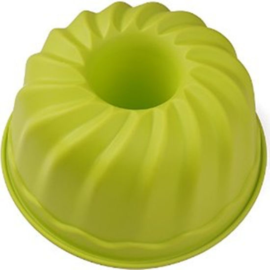 Flower Shape Silicone Cake Mold pictures & photos