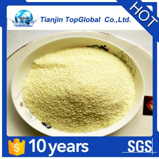 antitackiness agent dosage 0.01g/kg yellow prussiate of potash