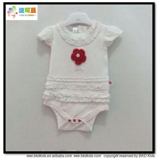 100% Cotton Baby Garment New Design Babies Onesie