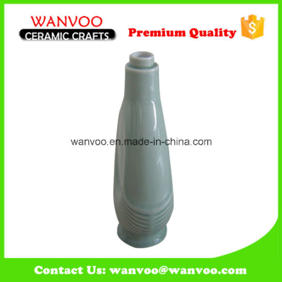 750ml Color Glazed Ceramic Wine Bottle for Storing Liquor pictures & photos