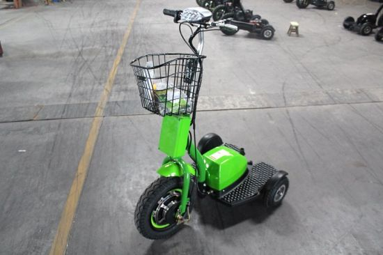 New Design Zappy Scooter 48V 500W Brushless Motor 3 Wheel Electric Tricycle pictures & photos