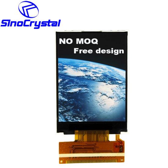 2.4 Inch TFT Transmissive Ili9341V Driver IC MCU Interface 36pin Color LCD Module