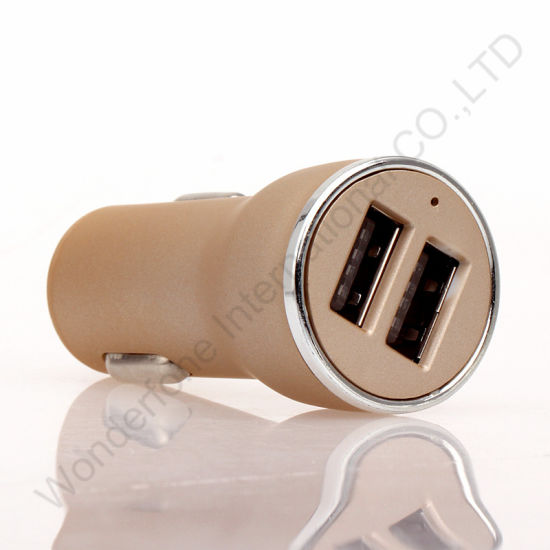 Fulll 1A 2 USB Car Charger for Mobile Phone