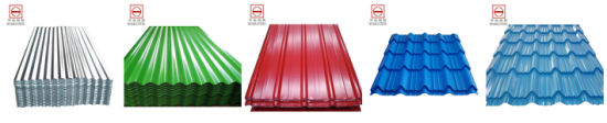Color-Coated Profiled Galvanized Steel in Coil/Sheet (Yx10-125-875) pictures & photos