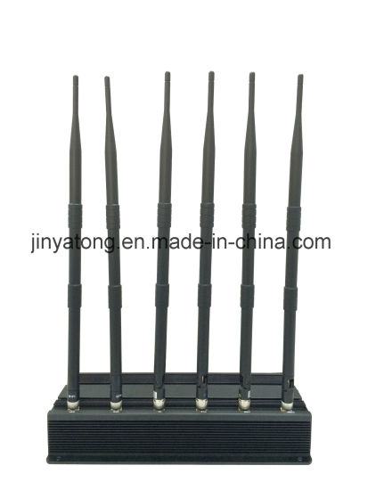 15W 6 Antenna Cell Phone Wi-Fi and GPS Signal Jammer pictures & photos