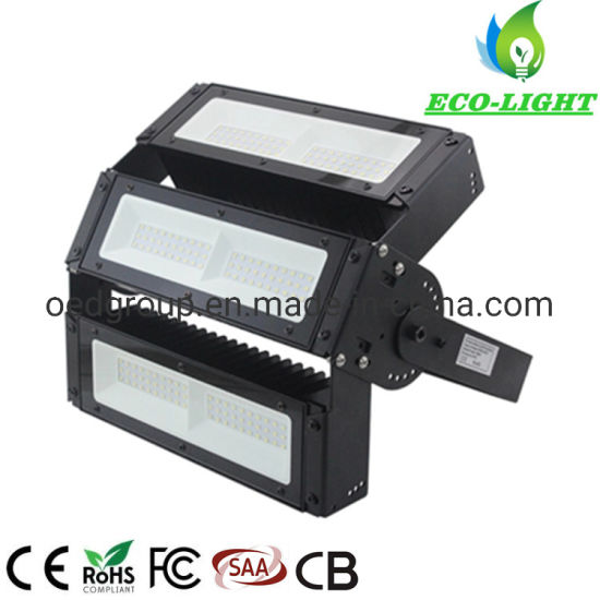 150W Adjustable Angle Outdoor Waterproof LED Module SMD Floodlight with 5 Years Warranty