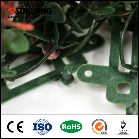 China Wholesale Garden Artificial Leave Panel Hedge for Decor pictures & photos