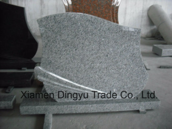 Cheap Grey G603 Granite Tombstone pictures & photos