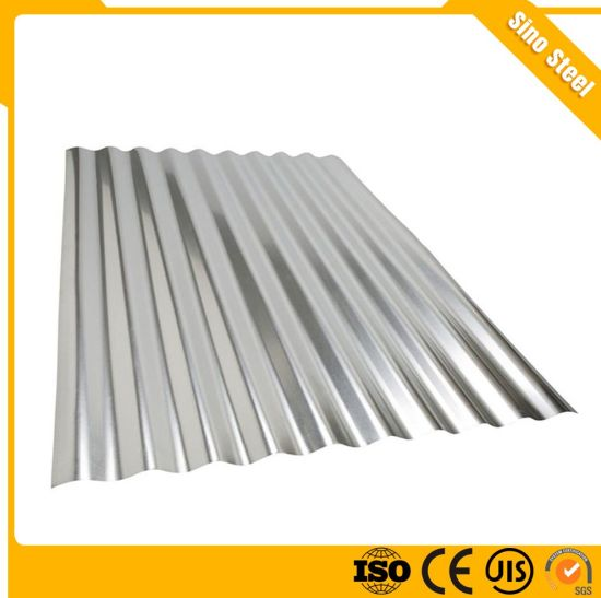 60-275G/M2 Galvanized Corrugated Steel Roofing Sheet Metal