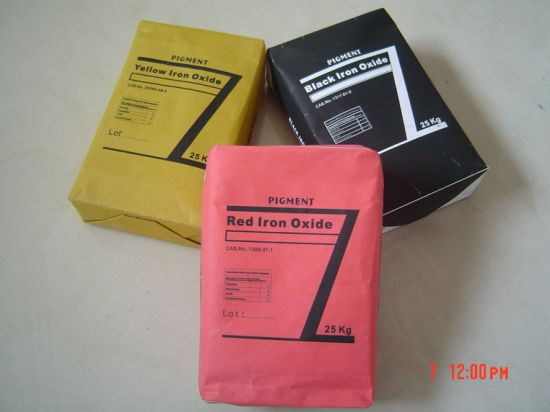 Construction Grade Iron Oxide Red, Yellow