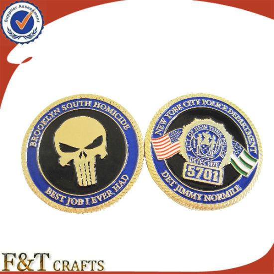 China Wholesale Custom USA Military Plane Metal Challenge Coins