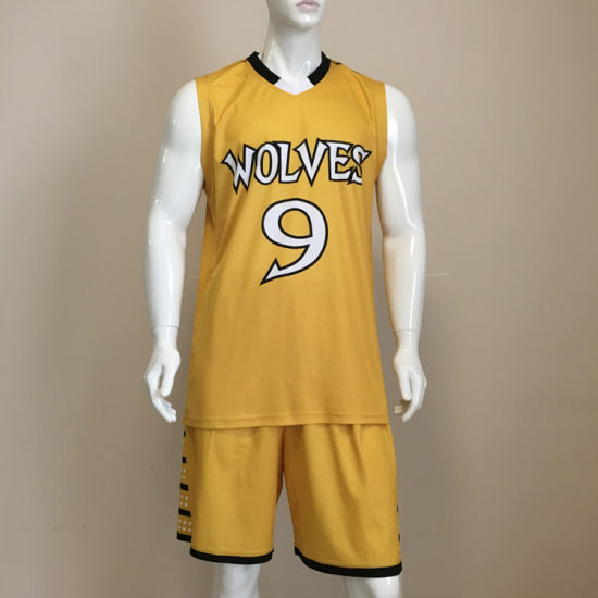 OEM Custom Sublimation Basketball Uniform pictures & photos
