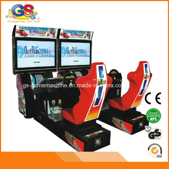 Coin Operated Car Racing Simulator Driving Outrun Arcade Machine for Sale pictures & photos