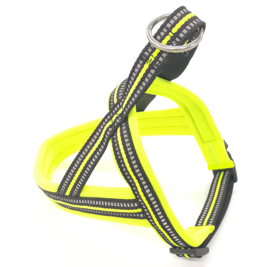 2019 Manufacturer New Design High Quality Reflective Padded Head-in Dog Harness