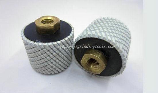 "2/"" 5//8-11 Diamond Polishing Drum Wheel for Granite Concrete Marble"