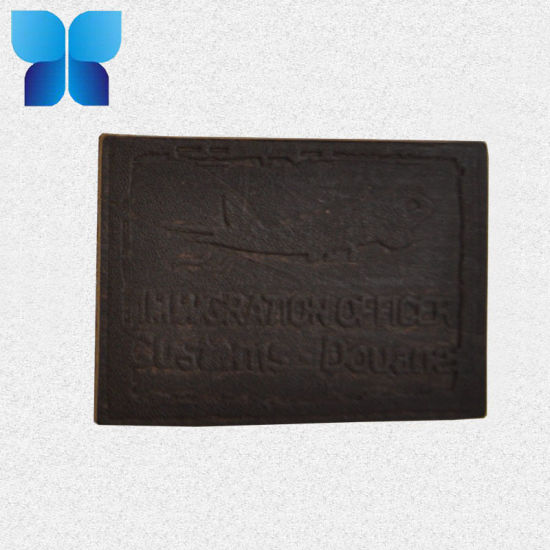 Popular Jeans Leather Label Clothing PU Label