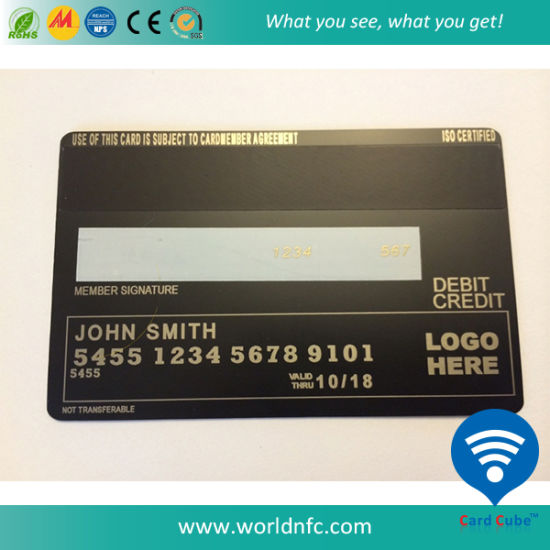 Custom Stainless Metal Business Card pictures & photos