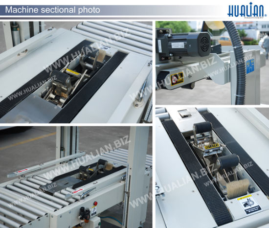 Hualian Pneumatic Automatic Carton Sealer (FXJ-5050Q) pictures & photos