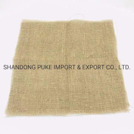 China New Home Furnishing Product Drapery 100% Jute Burlap Fabric