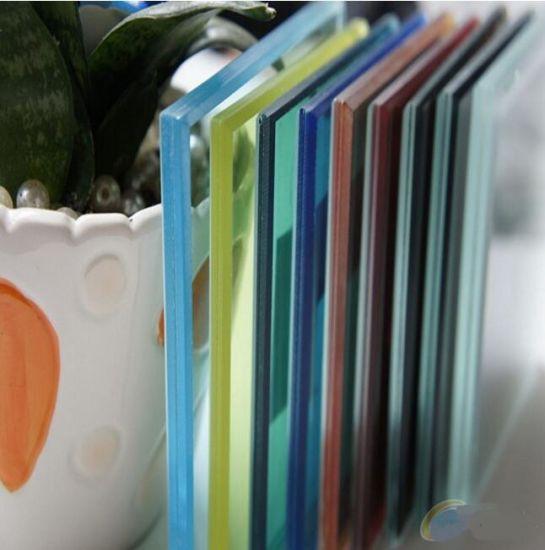 China Silk-Screen Printed Color Laminated Glass - China
