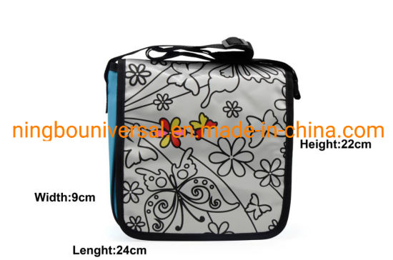DIY High Quality Doodle Painting Coloring Funny Shoulder Kids Bag