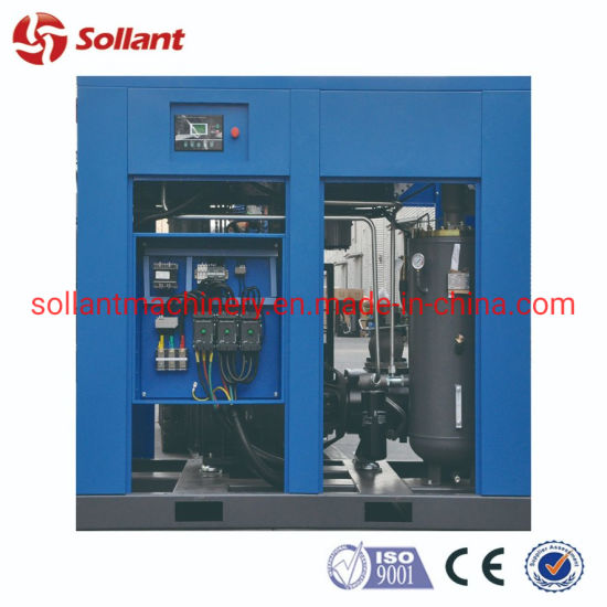 175HP 132kw High Quality silent Combined Fixed Speed Screw Air Compressor for Sale