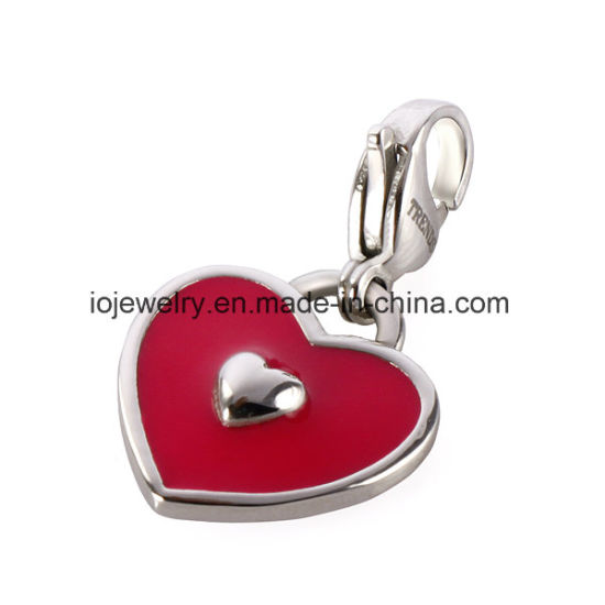 Beautiful Heart Pendant Charm Jewelry for Promotion