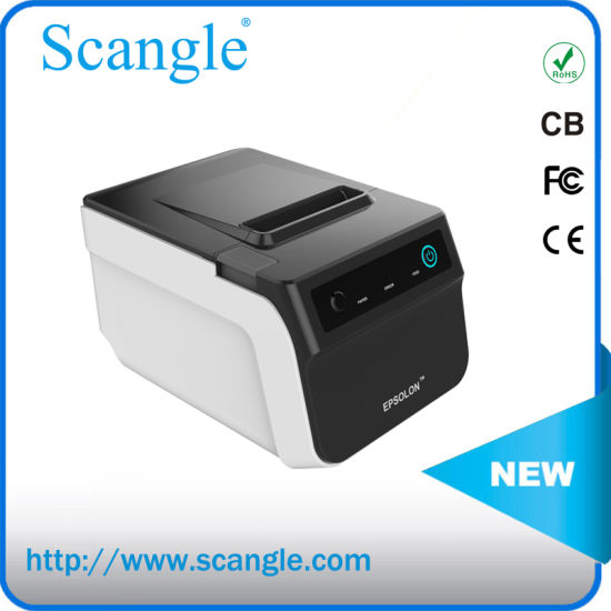 80mm 3inch POS Thermal Receipt Label Printer with Auto Cutter and Good Quality pictures & photos