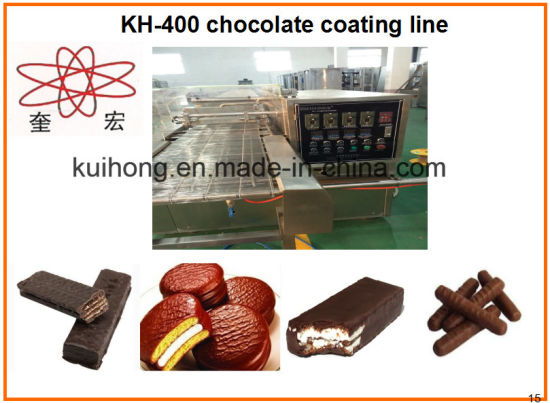 Kh 150 Small Chocolate Enrobing Machine pictures & photos