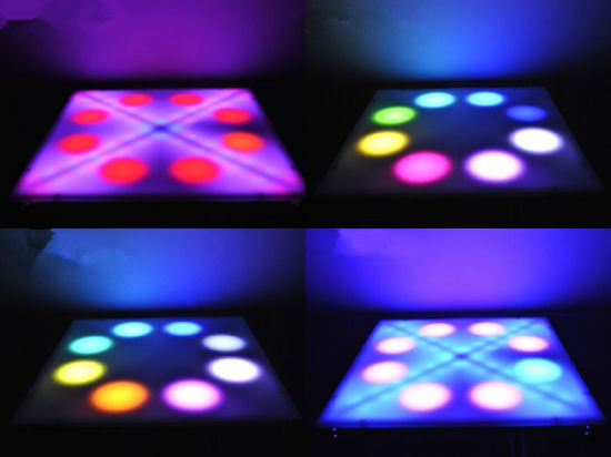 Popular P16 High Definition Video LED Dancing Floor pictures & photos
