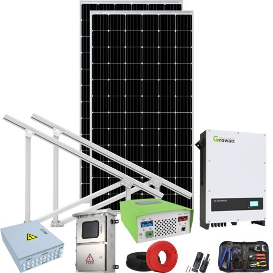 Grid Tie Solar Systemgrid Tie Solar Power Systemground Mount Solar pictures & photos