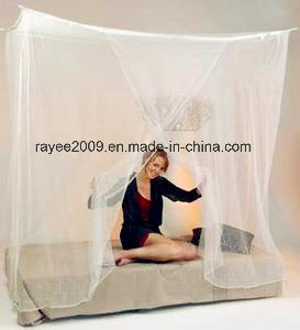 High Denier Premium Protection Army Mosquito Net Square Bed Canopy pictures & photos