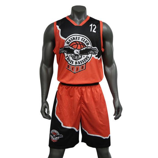 Free Design Sportswear Manufacturer Customized Sublimation Basketball Jersey