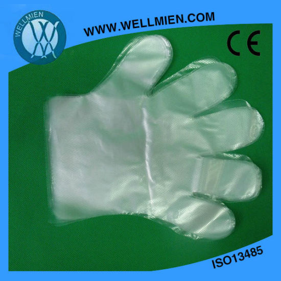 Disposable PE Gloves pictures & photos