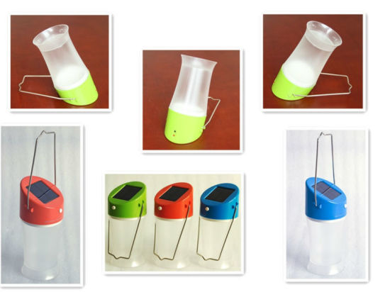 Mini Cheaper LED Solar Lantern for Home with Own Factory pictures & photos