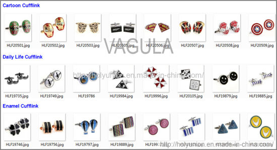 VAGULA Cuff Links Designer Cufflink (Hlk31607) pictures & photos