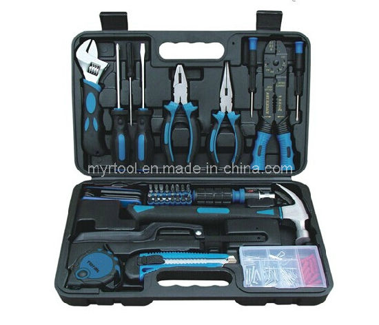Hot Selling-160PCS Home Use Hand Tool Set (FY160B1) pictures & photos