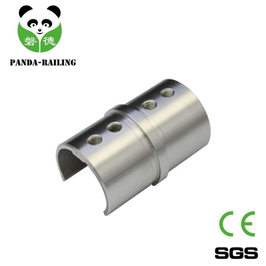 Stainless Steel Balustrade and Railing Slot Tube Elbow Tube Connector pictures & photos